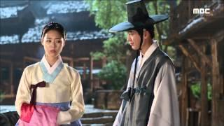 [Hwajung] 화정 35회 - Lee Youn-hee and Seo Kang-joon romance 이연희에 프로포즈 하는 서강준 20150810