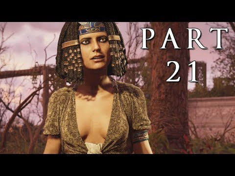 ASSASSIN'S CREED ORIGINS Walkthrough Gameplay Part 21 - Storyteller (AC Origins)