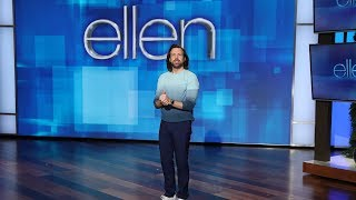 Ellen Superfan Jason Sudeikis Takes Over the Show