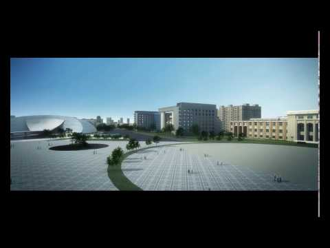 Art Gallery and Museum conceptual CGI animation