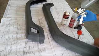 Painting Jeep Fender Flares