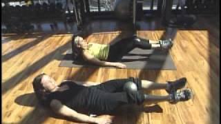 Tanya Robertson -  Personalized Fitness: Ball Leg Raise