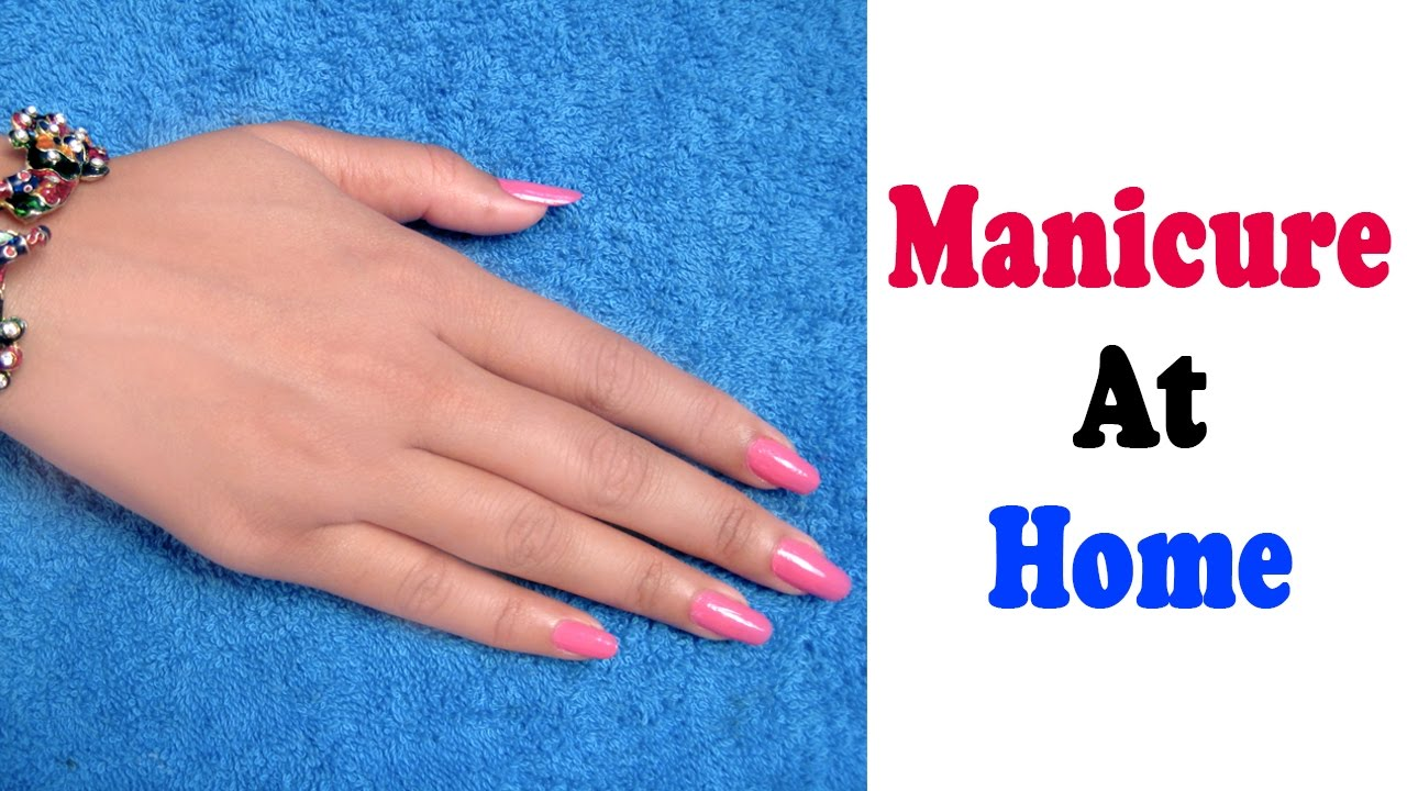 Manicure At Home- Hands Care Tips By Beautician And Makeup Artist Sonia  Goyal @ ekunji.com