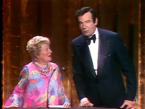 Walter Matthau and Janet Gaynor: 1978 Oscars