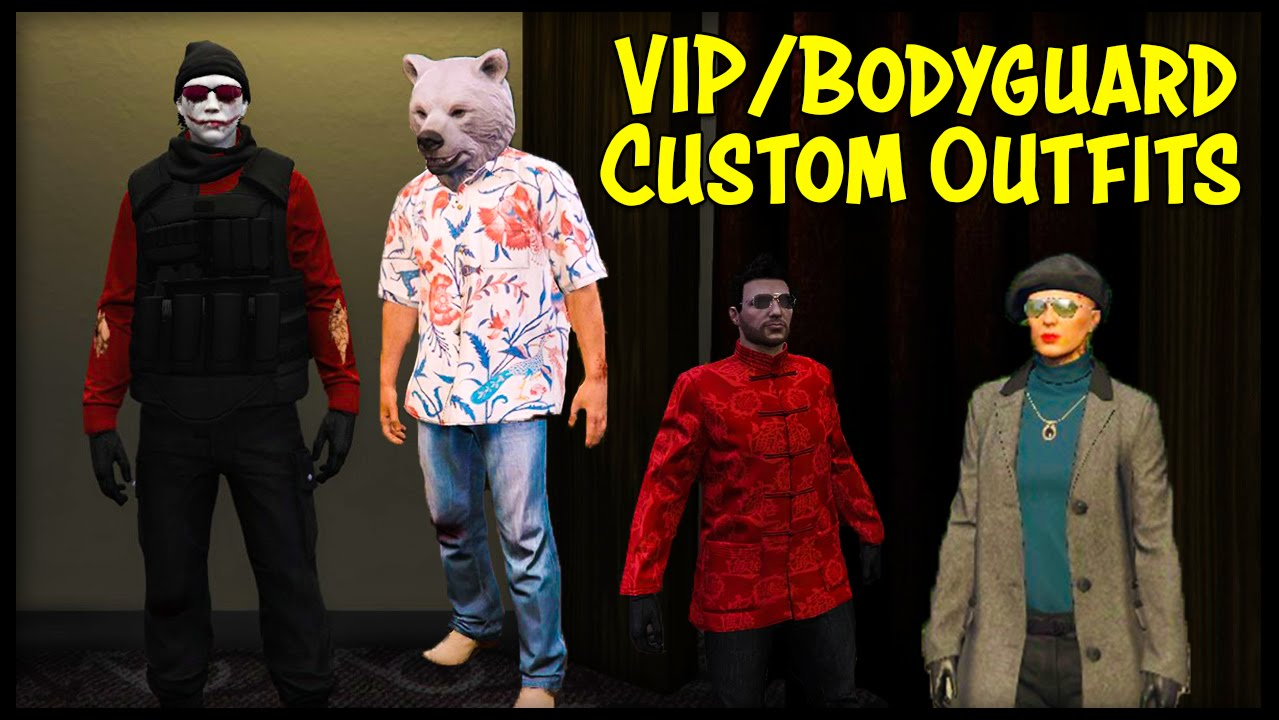 """GTA Online How To """"Save/Customize"""" VIP & Bodyguard Outfits ..."""