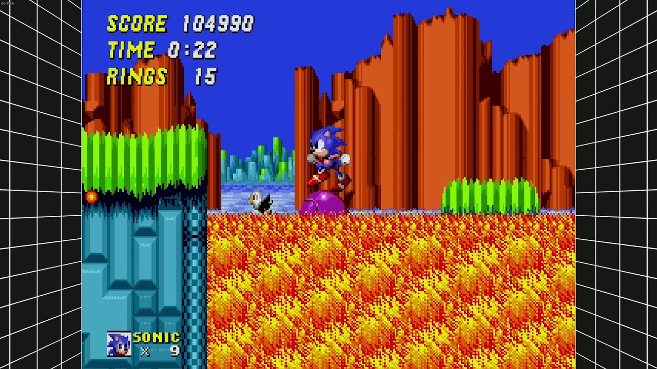 Sonic 8 Hill Top Zone 8+8 - YouTube
