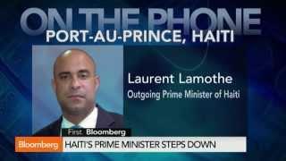 Laurent Lamothe: Haiti Prime Minister on Why He Quit