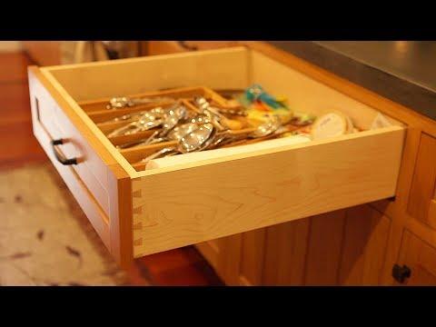 DIY Kitchen Cabinets Ep 8 - Making Dovetail Drawers!