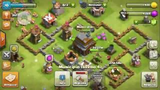 Clash of clans MUNICIPIO 4 scusate se nn ho salutato :-)