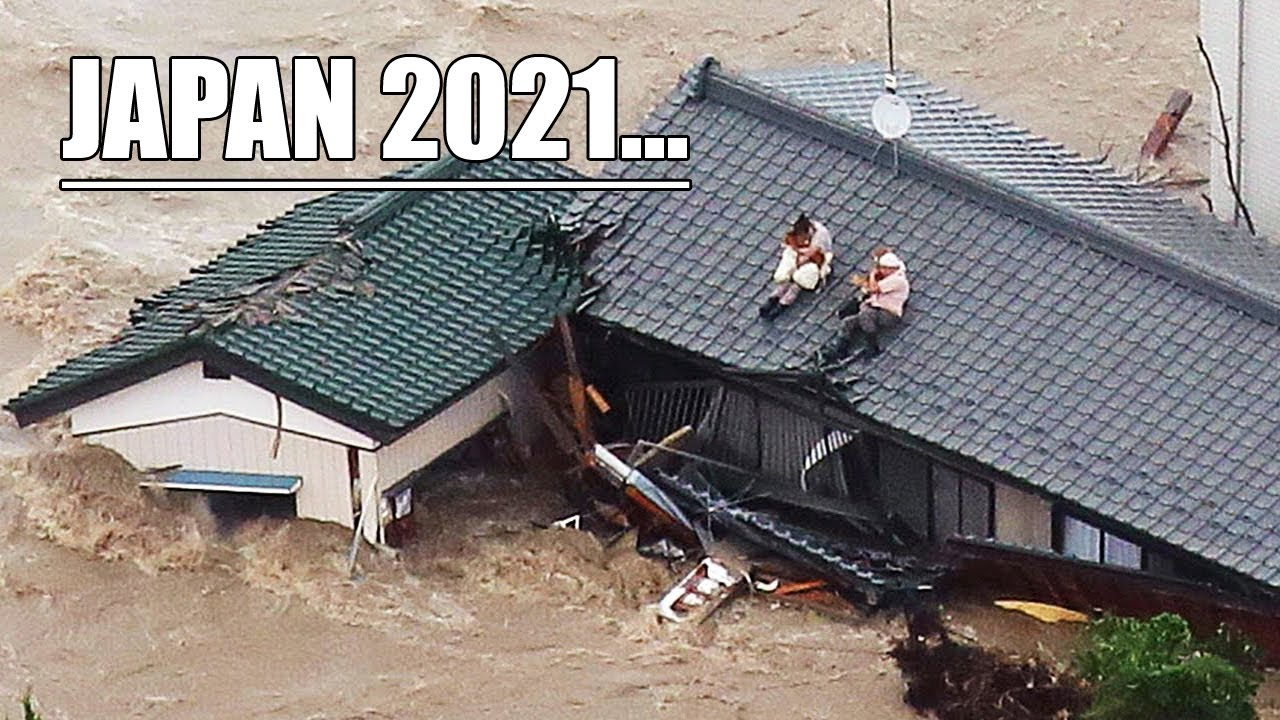 A monstrous test has befallen Japan! Thousands of houses have sunk!