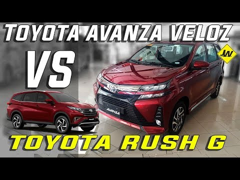 2019 Toyota Avanza Veloz review -Is it better than the Toyota Rush? Philippines