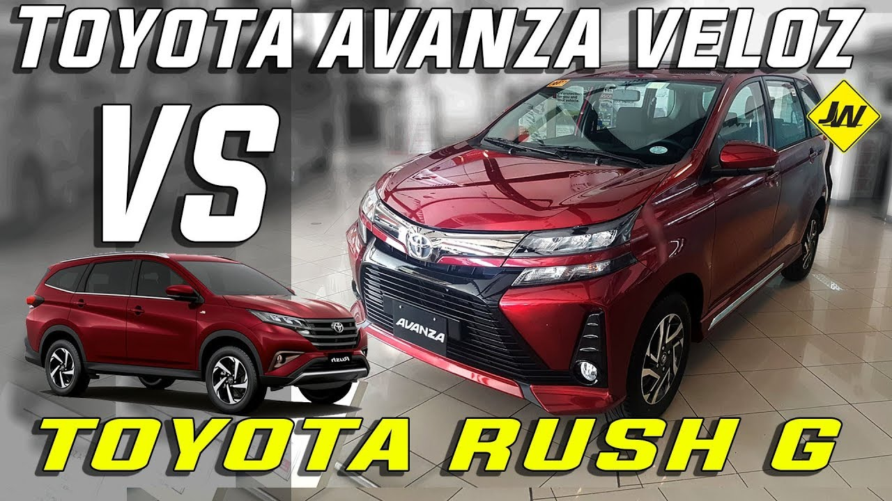 2019 Toyota Avanza Veloz Review Is It Better Than The Toyota Rush Philippines Youtube
