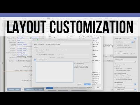 FM Starting Point: Layout Customization | FileMaker 14 Training Videos