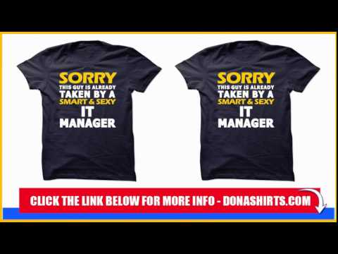 it manager t shirt hoodie youtube