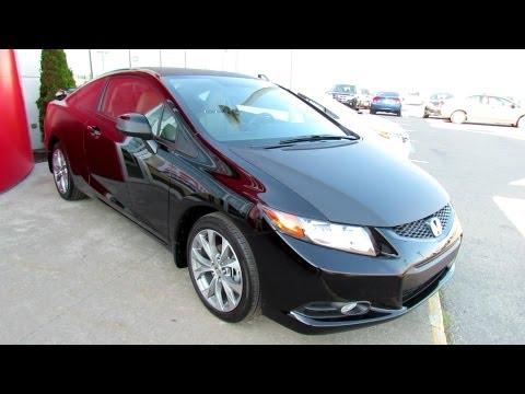 2012 Honda Civic Black Edition - Hamel Honda - St-Eustache, QC, Canada