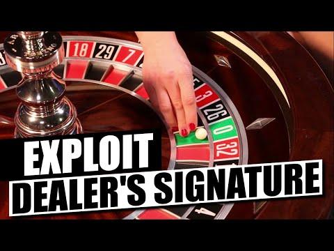Roulette Live Dealer's Signature (EXPLAINED)