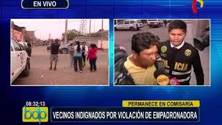 Vecinos indignados por violación de empadronadora en VES