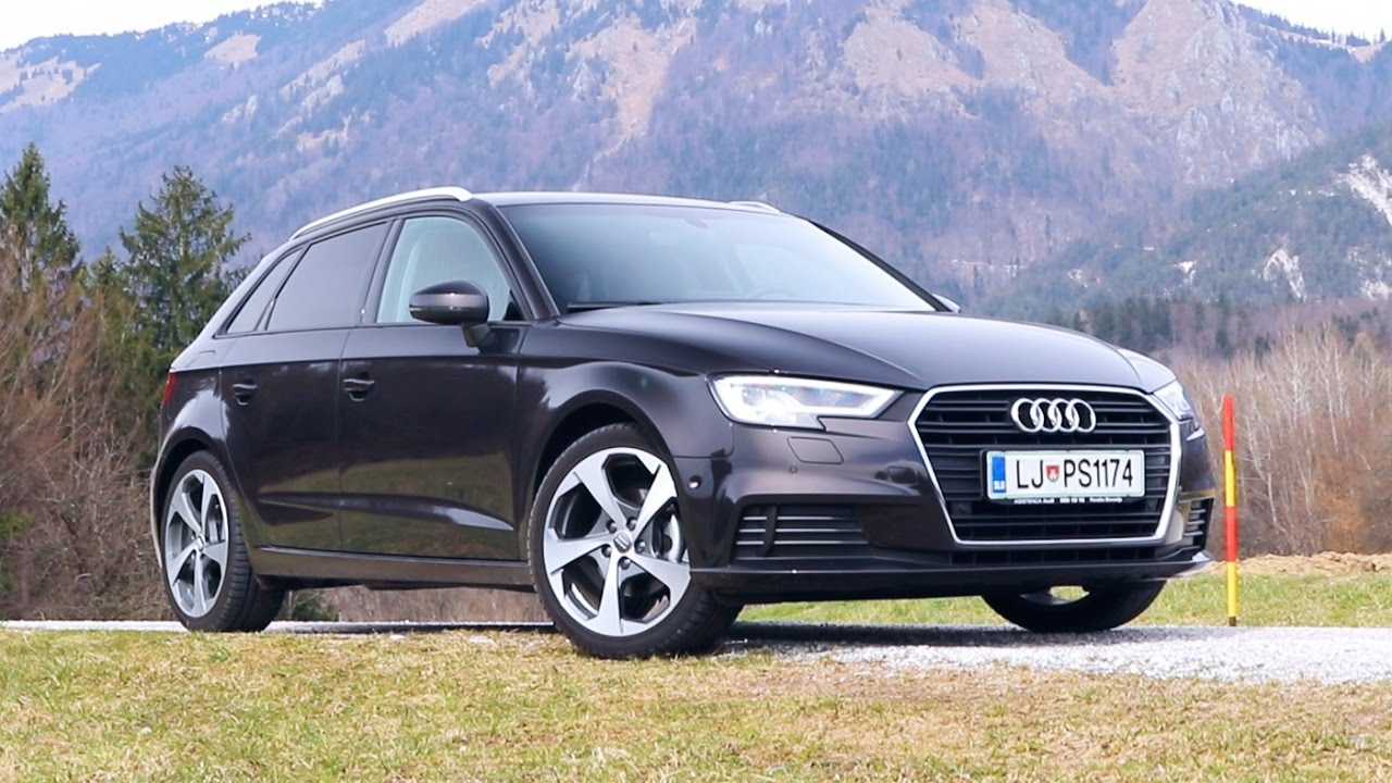 audi a3 sportback 1 0 tfsi 115 hp review youtube. Black Bedroom Furniture Sets. Home Design Ideas