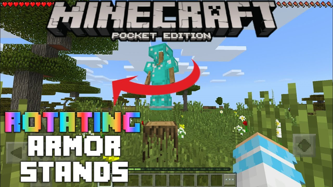 how to build armor stand in minecraft