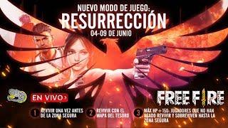 🔴 Nuevo Modo de Juego *RESURRECCIÓN* - FREE FIRE - Día de Patros!!