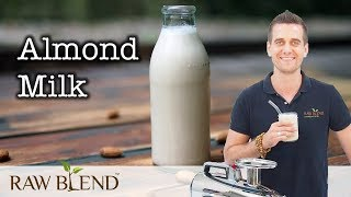 How to Make Almond Milk in a Juicer! thumbnail