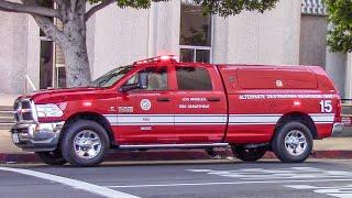 LAFD Alternate Destination 15 & Rescue 814
