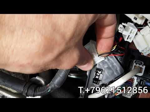 TOYOTA PRIUS 30,40ALPHA ремонт реле клаксона или где оно находится.