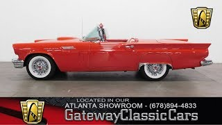 1957 Ford Thunderbird - Gateway Classic Cars of Atlanta #696