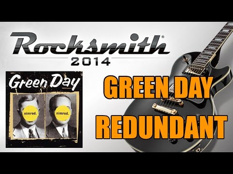 Green Day: Redundant (Rocksmith 2014 Custom)