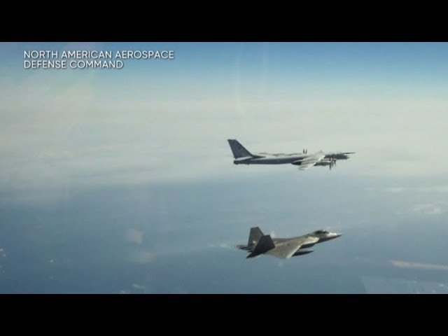 Russian fighter jets and bombers intercepted off Alaska for 2nd day in a row