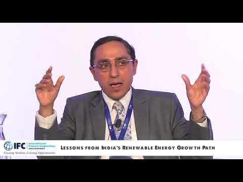 Lessons from India's Renewable Energy Growth Path (IFC Climate Business Forum 2017, New Delhi)