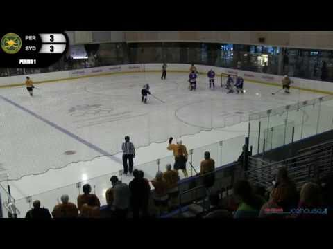 2014-15 AJIHL Grand Final - Perth Pelicans v Sydney Wolfpack
