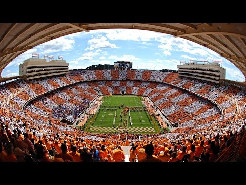 Checker Neyland timelapse | Tennessee vs. Florida (Oct. 4, 2014)