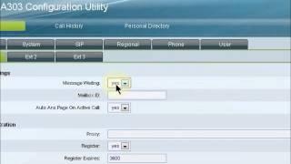 Setup Cisco SPA 303 with PBXes.org