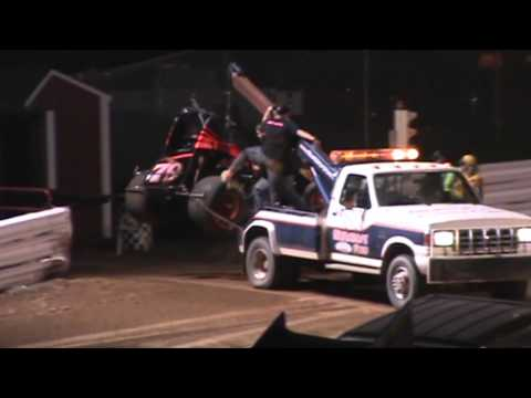 Selinsgrove Speedway 360 Sprint Car Highlights 04-16-16