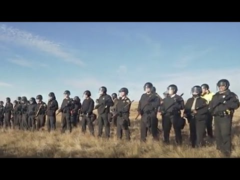 Peaceful Prayer Against Pipeline Met with Police Violence and Mass Arrests