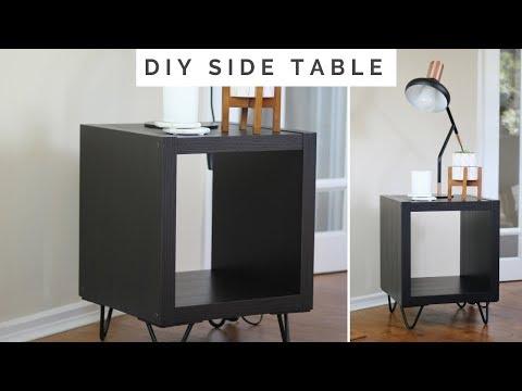 DIY SIDE TABLE | IKEA HACK