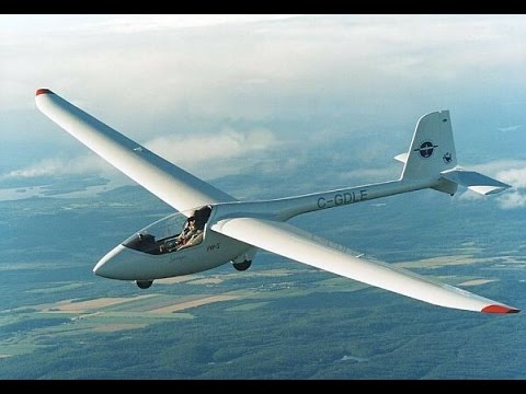 Learn to fly glider sailplane 100 mile cross country TSA Roy Dawson video