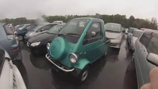 Car Review - Daihatsu Midget II - Start up, full vehicle tour