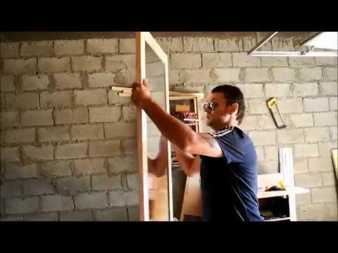 Как сделать деревянную раму для зеркала своими руками