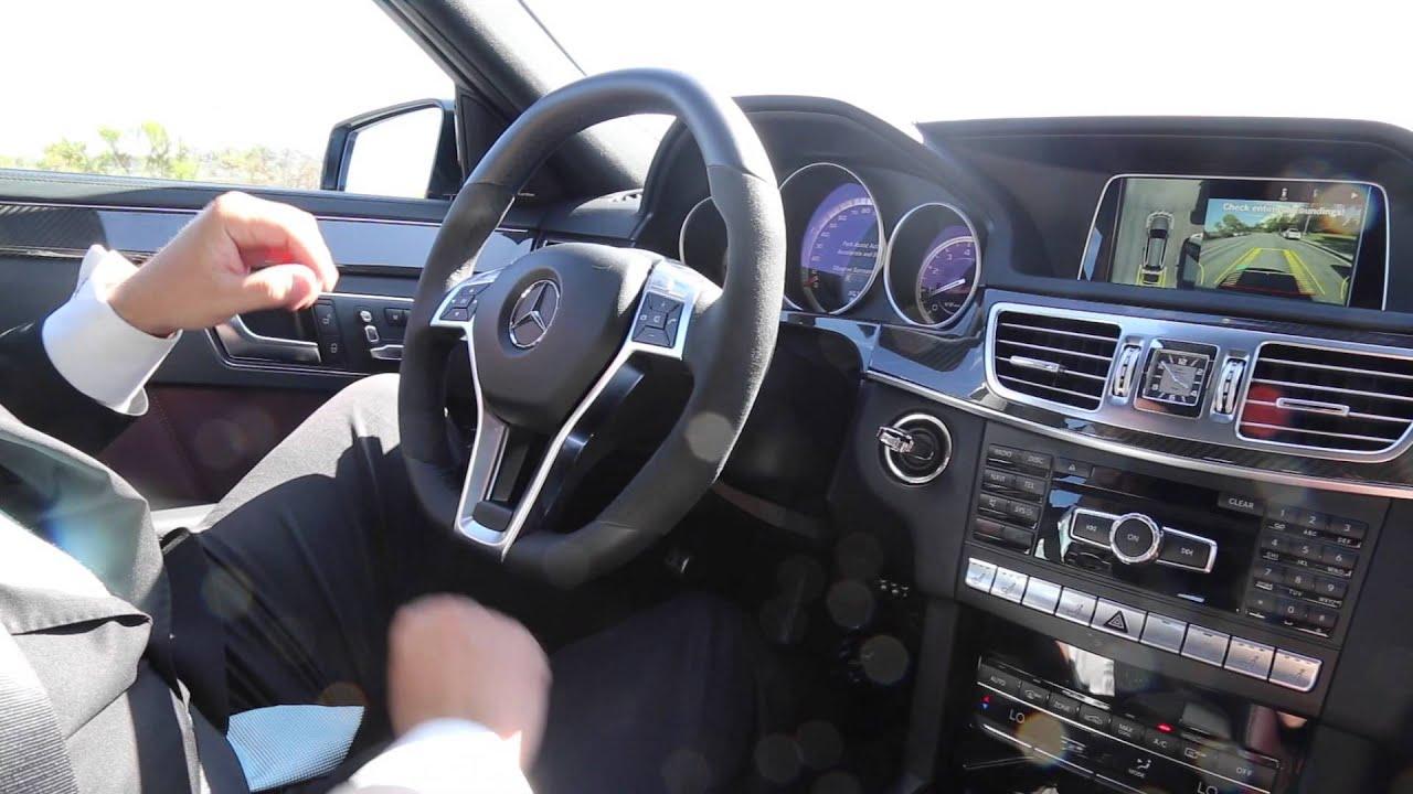 Mercedes-Benz Park Assist Tutorial - YouTube