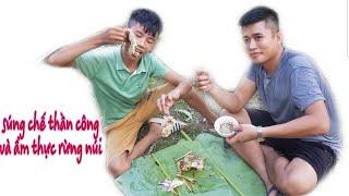 Béo Gầy TV | Chế Tạo Súng Thần Công Và Ẩm Thực Rừng Núi | Fabrication of Cannons and Cuisine of Moun
