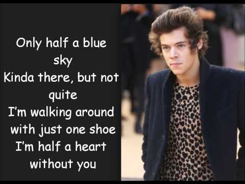 One Direction   Half a Heart   Karaoke