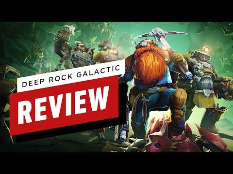 Deep Rock Galactic Review