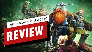 Deep Rock Galactic Review (Video Game Video Review)