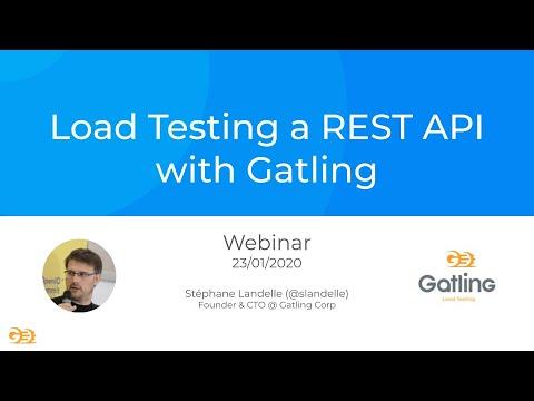 Download Gatling Webinar - Load Testing a REST API with Gatling (23rd January 2020)