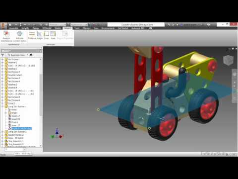 Autodesk Inventor 2015 Tutorial | Assembly Management