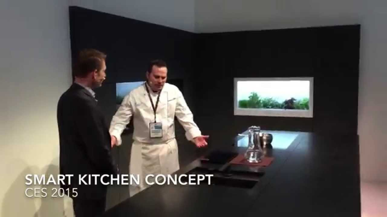 Smart Kitchen Panasonics Connected Home Smart Kitchen Demo Ces 2015 Youtube