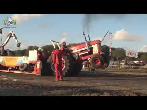 Prachtige wedstrijddag bij trekkertrek Aagtekerke  tractorpulling Trekkerweb