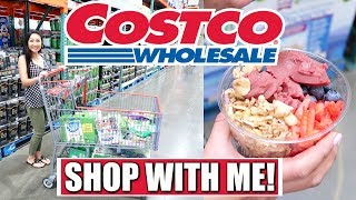 COSTCO SHOP WITH ME #5 + NEW COSTCO ACAI BOWLS!